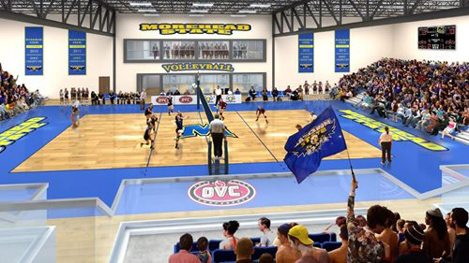 Morehead State Volleyball Facility